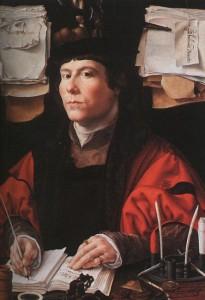 Портрет купца 1530-Джан Госсаерт