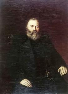 Портрет купца С.Т.Кузнецова1873(Василий Перов)