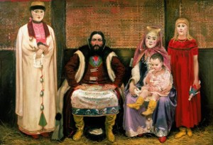 Семья купца в XVII веке -Рябушкин Андрей Петрович