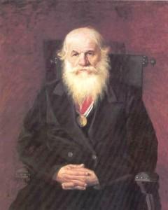 Третьяковская галерея-портрет купца И.С. Каминина 1872