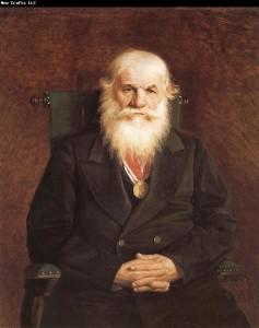 Vasily Perov-портрет купца Ивана Каминина